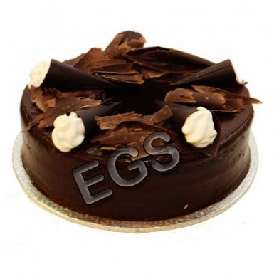 2lbs Chocolate Dark Cake From Kitchen Cuisine delivery to Pakistan
